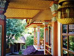 Balkon des Hotels am Lovina Beach