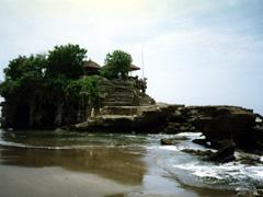 Felsen am Tanah Lot Tempel